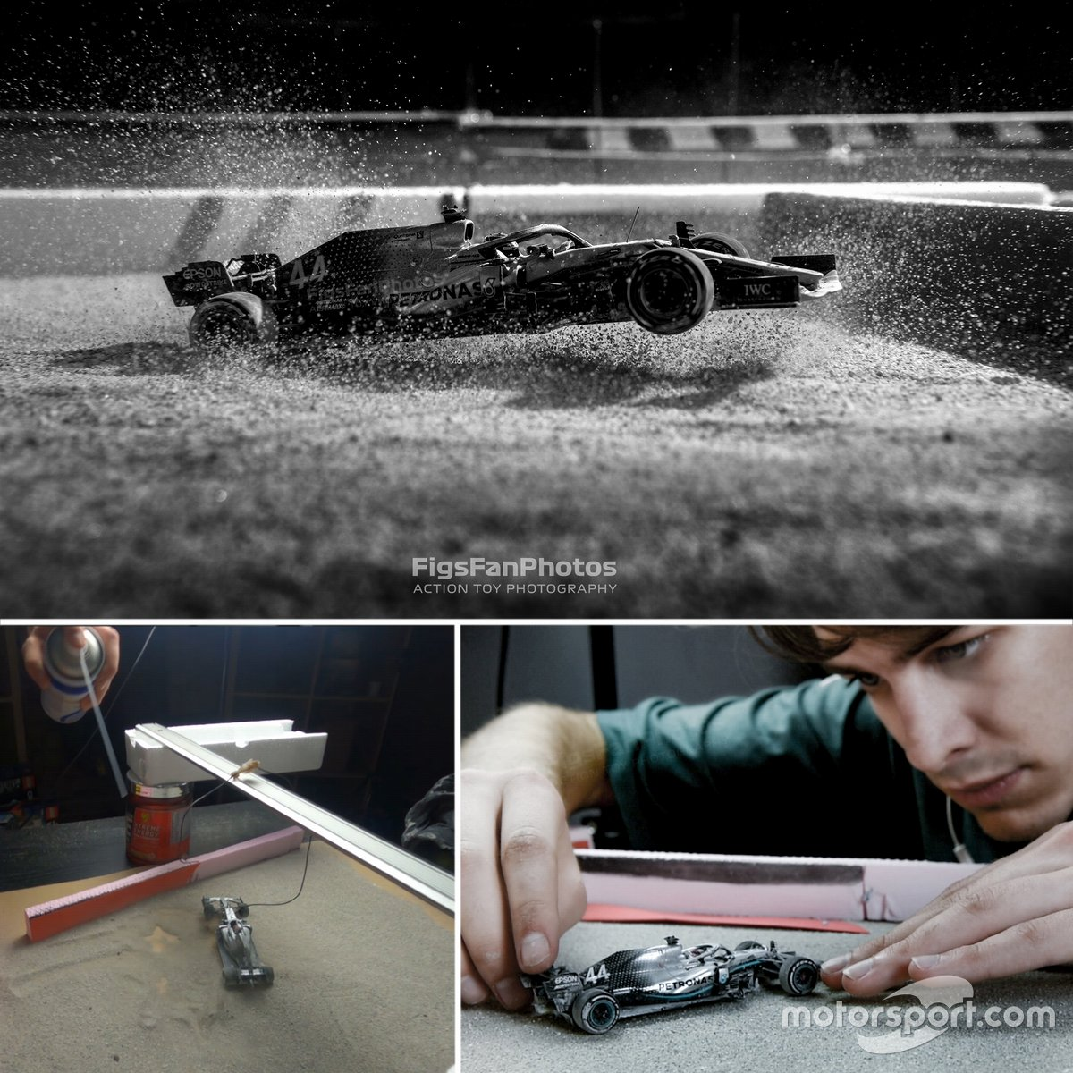 Forma-1, Action Toy Photography