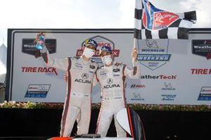 DPi ganadores: #7 Acura Team Penske Acura DPi, DPi: Helio Castroneves, Ricky Taylor