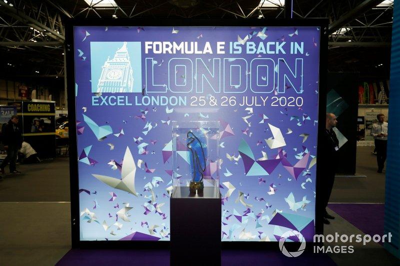 The Formula E trophy