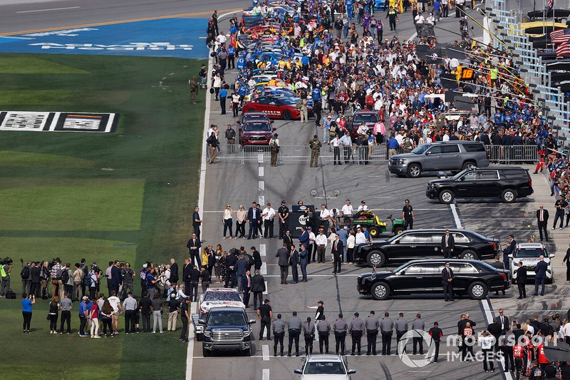 Presidente Donald Trump en Daytona 500