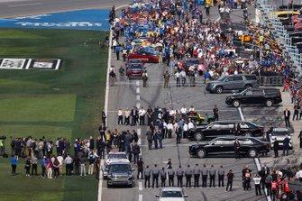 President Donald Trump at Daytona 500
