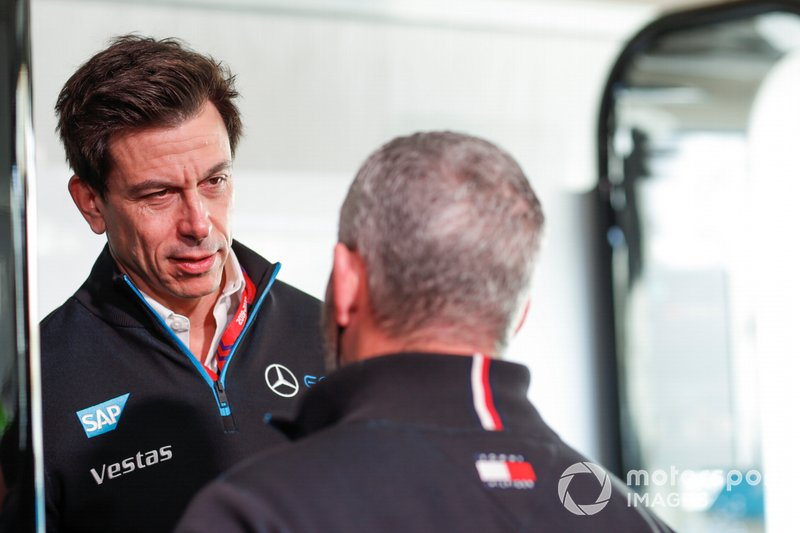 Toto Wolff, Team Principal of Mercedes AMG F1 Team