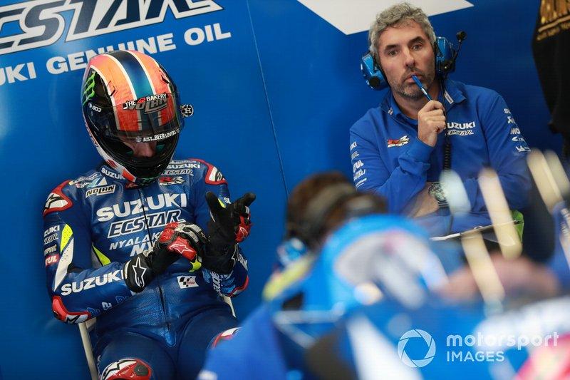 José Manuel Cazeaux - Alex Rins, Team Suzuki MotoGP