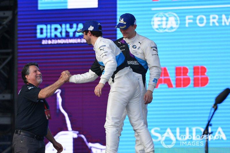 Alexander Sims, BMW I Andretti Motorsports, Michael Andretti, Chief Executive Officer, presidente de Andretti Autosport