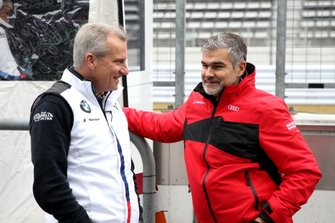 Jens Marquardt, BMW Motorsport Director, Dieter Gass, Head of DTM Audi Sport