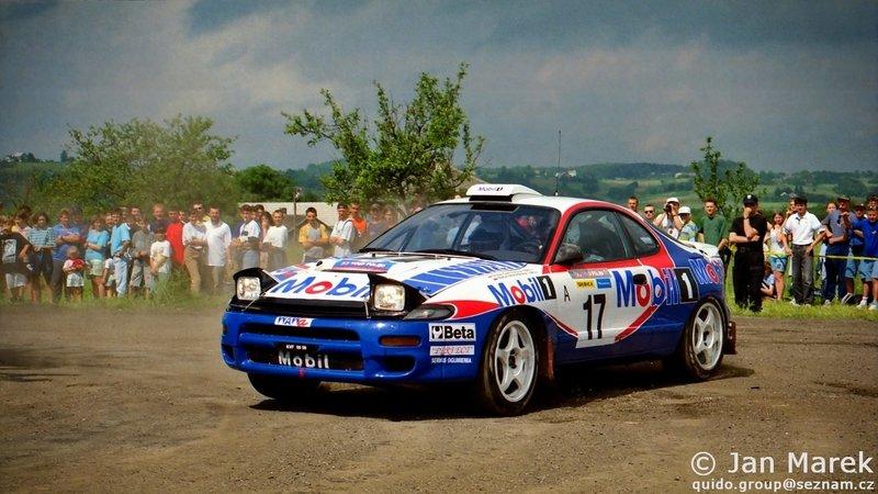 Marek Gieruszczak, Maciej Maciejewski, Toyota Celica Turbo 4WD (ST185), Rajd Polski 1998