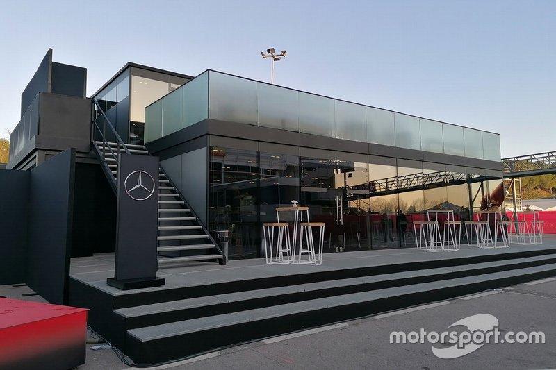El motorhome de Mercedes