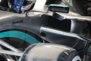 Dettaglio secchietto, Mercedes F1 W11