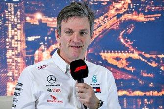 James Allison, Technical Director, Mercedes AMG in de persconferentie