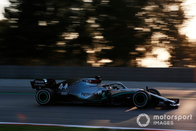 Lewis Hamilton, Mercedes F1 W11 EQ Power+