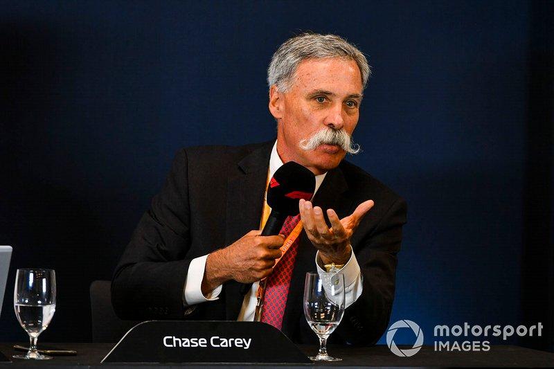 Chase Carey, Formula 1
