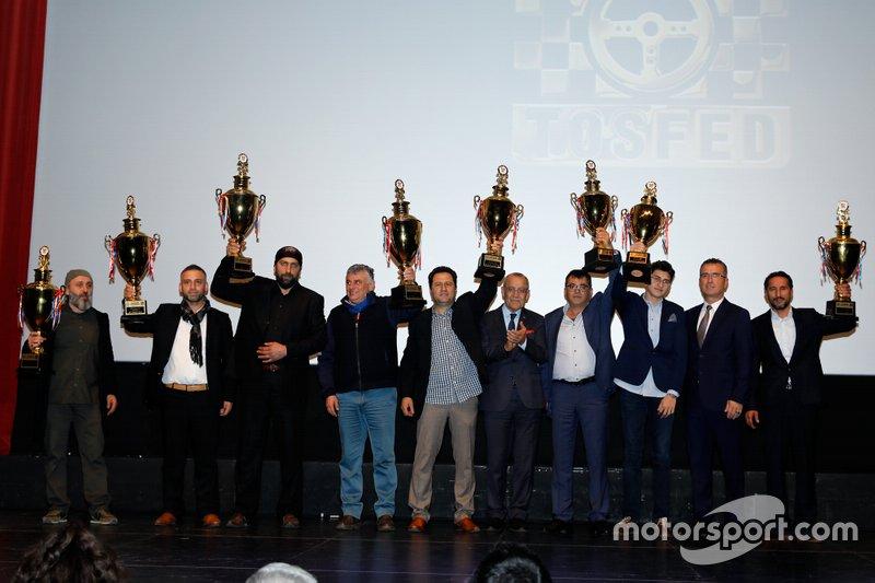 TOSFED Gala Gecesi, Türkiye Trial Şampiyonası