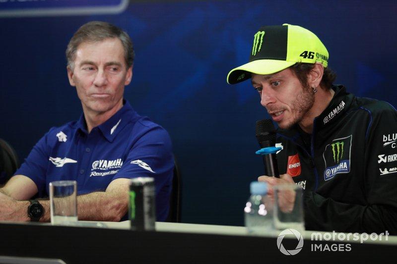 Lin Jarvis, Valentino Rossi, Yamaha Factory Racing