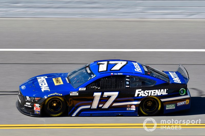 19. Chris Buescher, Roush Fenway Racing, Ford Mustang Fastenal