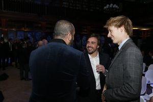 Fernando Alonso e Brendon Hartley