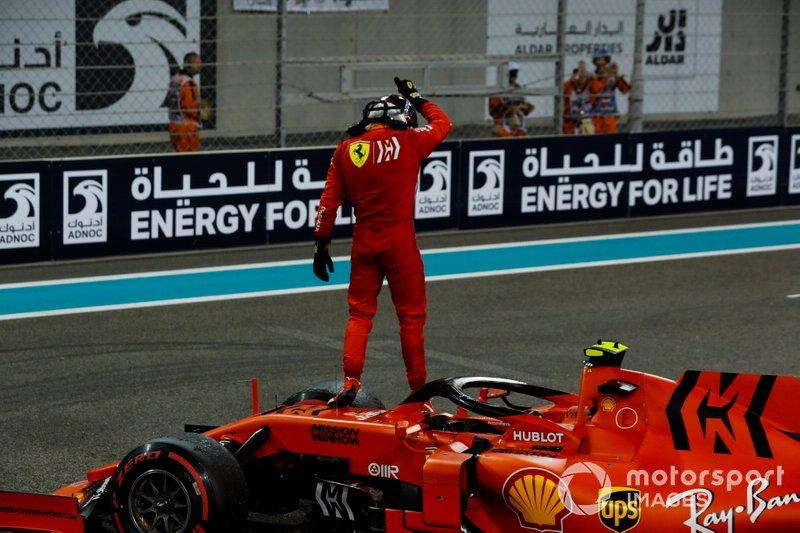 Charles Leclerc, Ferrari, terzo classificato