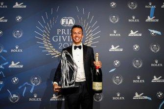 Alex Albon, FIA Rookie of the Year
