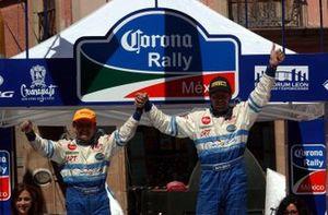 El ganador: Marcos Ligato, Mitsubishi Lancer EVO