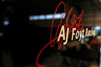 Sebastien Bourdais, A.J. Foyt Enterprises Chevrolet garage