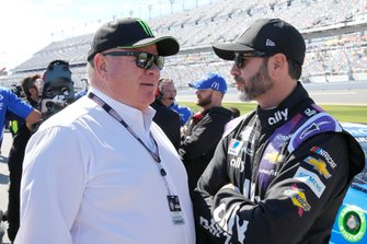 Chip Ganassi and Jimmie Johnson, Hendrick Motorsports, Chevrolet Camaro Ally