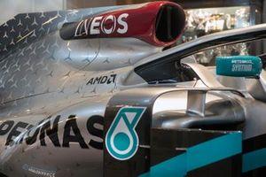 Mercedes AMG F1 renk düzeni