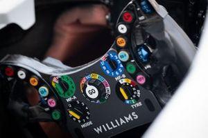 Williams FW42, dettaglio del volante