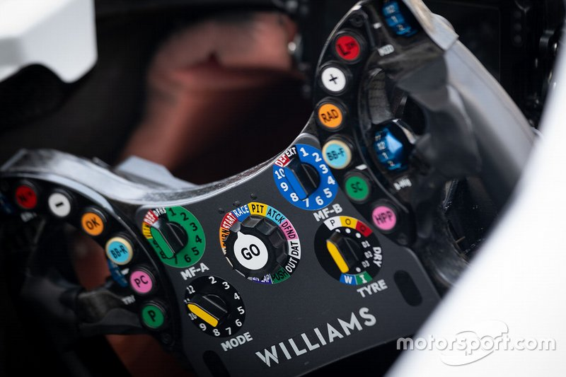Williams FW42 camera detail