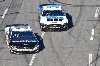 Aric Almirola, Stewart-Haas Racing, Ford Mustang Smithfield, Clint Bowyer, Stewart-Haas Racing, Ford Mustang BlueDEF