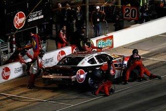 Christopher Bell, Joe Gibbs Racing, Toyota Supra Rheem, pit stop