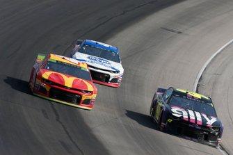Jimmie Johnson, Hendrick Motorsports, Chevrolet Camaro Ally Fueling Futures, Kyle Larson, Chip Ganassi Racing, Chevrolet Camaro McDonald's