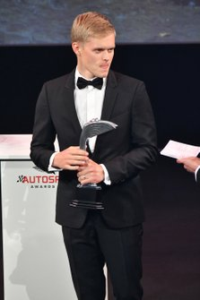 Ott Tanak receives the Rally Driver of the Year award