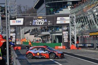 Dani Sordo, Del Barrio Carlos, Hyundai i20, Monza Rally Show