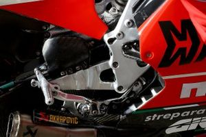Danilo Petrucci, Ducati Team, bike detail