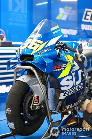 Joan Mir, Team Suzuki MotoGP, detail