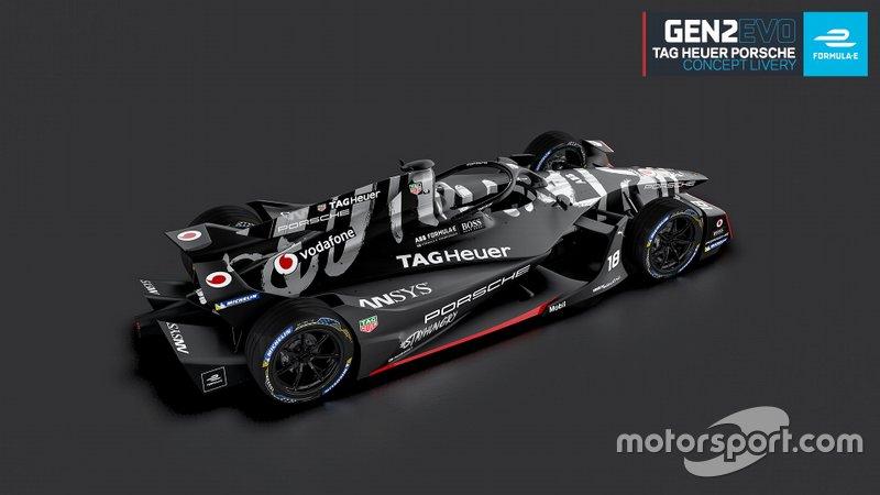 TAG Heuer Porsche Formula E Team Gen2 EVO