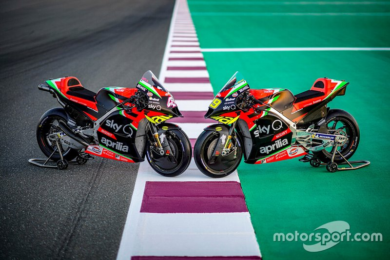Motos de Aprilia Racing Team Gresini