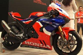 Honda WSBK Team bike