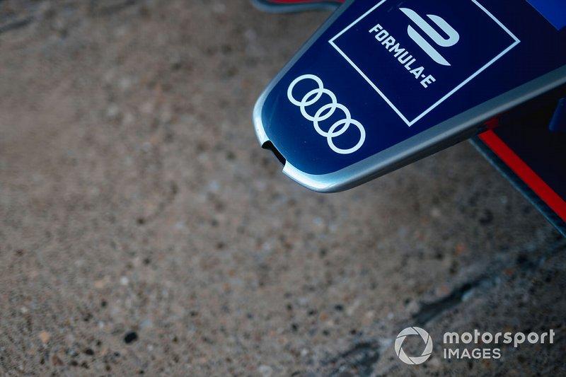 Nose of the Envision Virgin Racing, Audi e-tron FE06