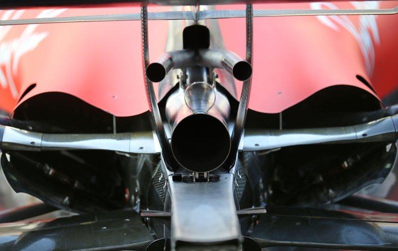 Ferrari SF90, dettaglio dello scarico