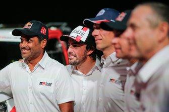 Nasser Al-Attiyah, Fernando Alonso, Toyota Gazoo Racing