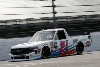 Sam Mayer, GMS Racing, Chevrolet Silverado Manpower