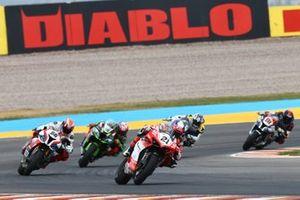 Michael Ruben Rinaldi, Barni Racing Team, Tom Sykes, BMW Motorrad WorldSBK Team, Leon Haslam, Kawasaki Racing Team