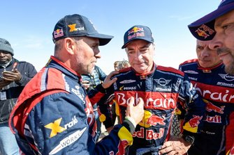 Winner #305 JCW X-Raid Team: Carlos Sainz, #302 JCW X-Raid Team: Stephane Peterhansel