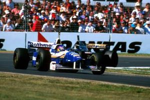 Jacques Villeneuve, Williams FW18, Damon Hill, Williams FW18