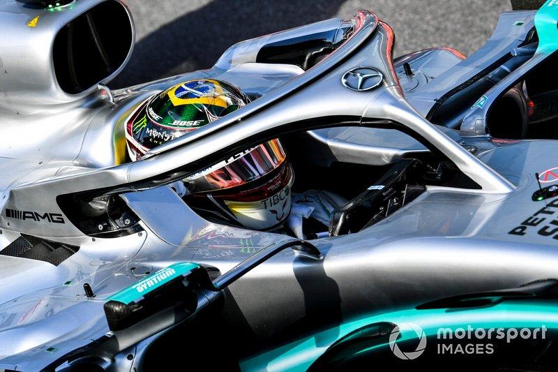 Lewis Hamilton, Mercedes AMG F1, dopo le Qualifiche