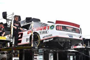 Brad Keselowski, Team Penske, Ford Mustang Discount Tire hauler