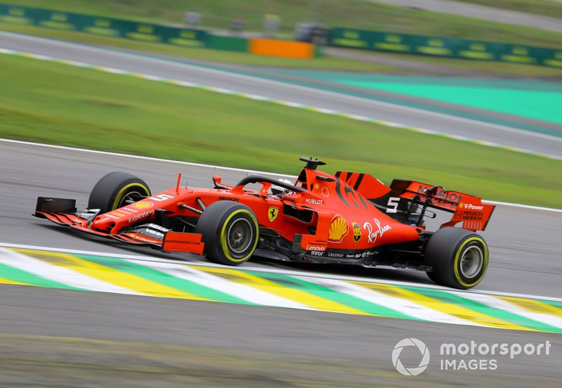 2º - Sebastian Vettel, Ferrari SF90