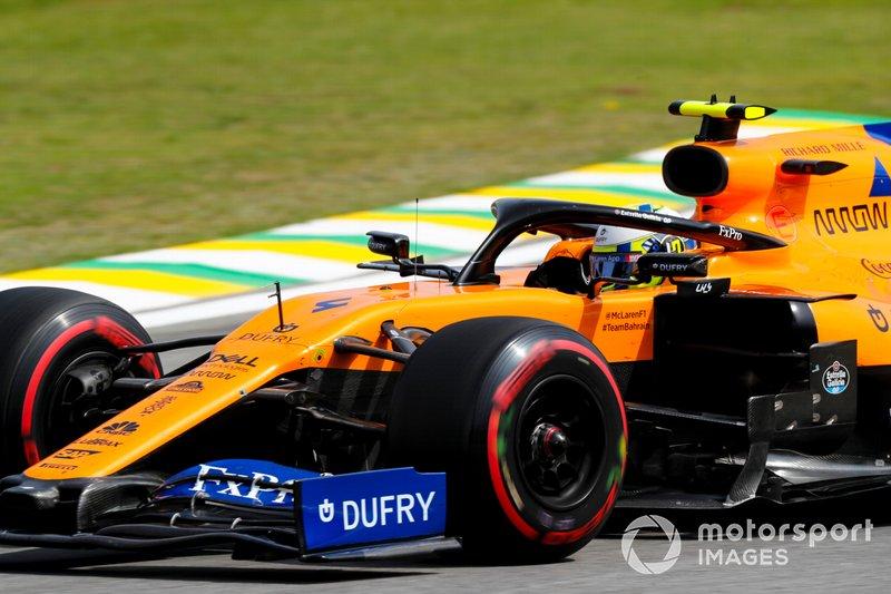 8º Lando Norris, McLaren MCL34 1:33:25.882