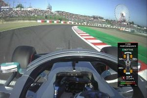 Screenshot Valtteri Bottas, Mercedes AMG W10