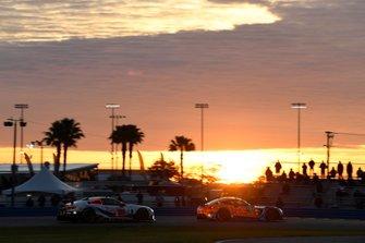 #74 Riley Motorsports Mercedes-AMG GT3, GTD: Lawson Aschenbach, Ben Keating, Gar Robinson, Felipe Fraga, #25 BMW Team RLL BMW M8 GTE, GTLM: Connor De Phillippi, Philipp Eng, Bruno Spengler, Colton Herta